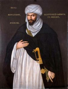 The Moorish ambassador to Elizabeth I Queen of England in 1600